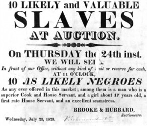 Slaves at Auction